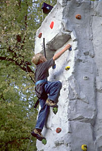 Climbing the Wall in Wisconsin, Michigan, Illinios, and the Midwest